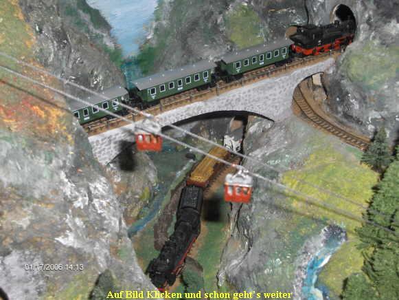 modelleisenbahn seilbahn